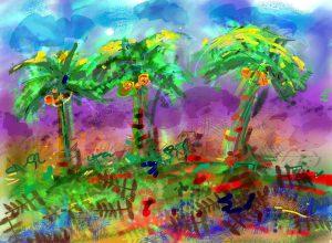 Drie Palmen